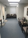 office open and waiting area